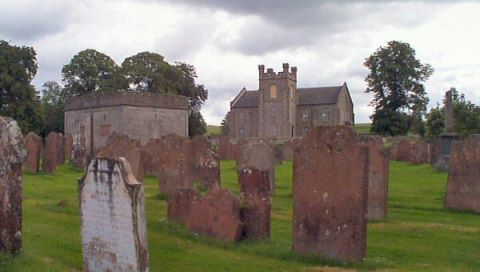 Scotland graveyard picture